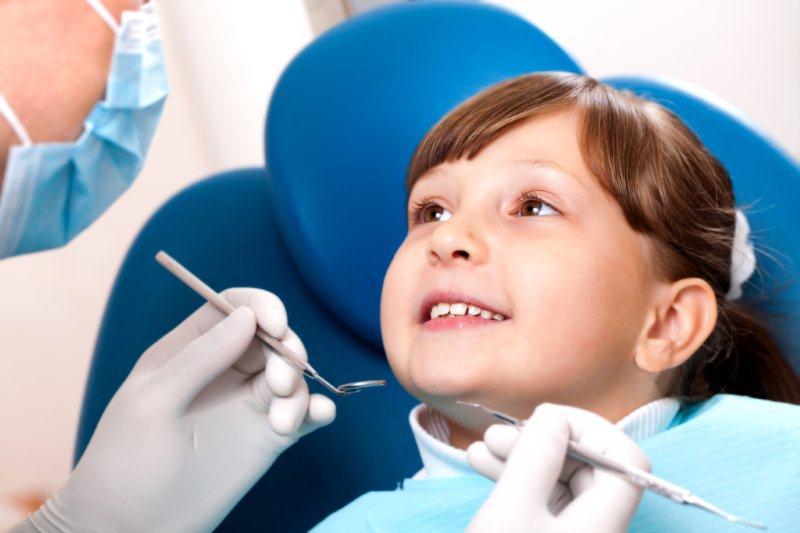 Приём у детского стоматолога
